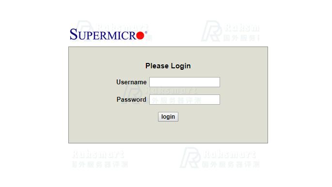 国外服务器RAKsmart登录OPEN IPMI教程