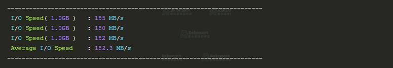 RAKsmart美国服务器硬盘IO读写