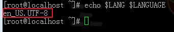 Centos7命令行中文乱码解决方法